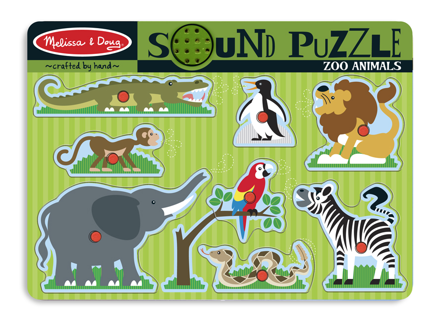 SOUND PUZZLE ZOO ANIMALS
