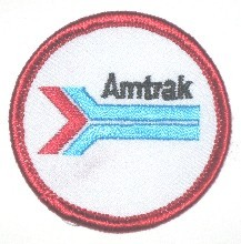 AMTRAK PATCH