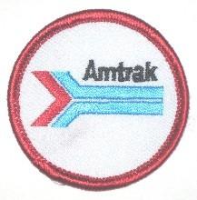 AMTRAK PATCH
