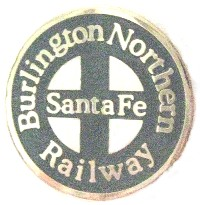 Northern Sante Fe Railroad Patch