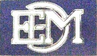 EMD LOGO METAL HAT PIN