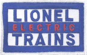 LIONEL ELECTRIC TRAINS PATCH
