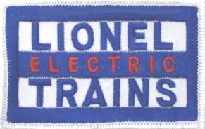 LIONEL ELECTRIC TRAINS PATCH