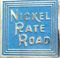 NICKEL PLATE RAILROAD LOGO METAL HAT PIN