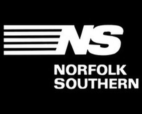 NORFOLK SOUTHERN RAILWAY LOGO PLAQUE