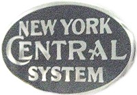 NEW YORK CENTRAL SYSTEM LOGO METAL HAT PIN