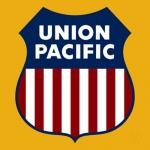 UNION PACIFIC RAILROAD LOGO PLAQUE