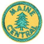 MAINE CENTRAL RAILROAD PATCH