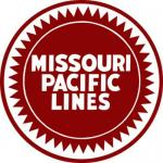 MISSOURI PACIFIC  LINES RAILROAD PLAQUE
