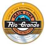 DENVER & RIO GRANDE WESTERN RAILROAD LOGO PLAQUE