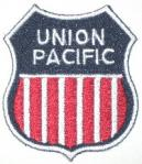 UNION PACIFIC RAILROAD PATCH